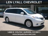 2011 Super White Toyota Sienna Limited AWD #50870460