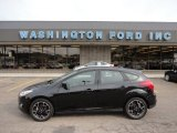 2012 Tuxedo Black Metallic Ford Focus SE Sport 5-Door #50870611