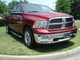 2011 Deep Cherry Red Crystal Pearl Dodge Ram 1500 Big Horn Quad Cab #50870357