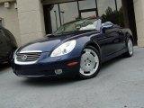 2003 Indigo Ink Blue Pearl Lexus SC 430 #50870493