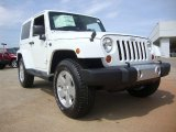 2011 Bright White Jeep Wrangler Sahara 4x4 #50870752