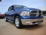 2011 Deep Water Blue Pearl Dodge Ram 1500 Big Horn Crew Cab 4x4 #50870754