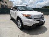 2011 White Platinum Tri-Coat Ford Explorer XLT #50870511
