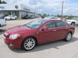 2008 Red Jewel Tint Coat Chevrolet Malibu LTZ Sedan #50870758