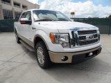 2011 White Platinum Metallic Tri-Coat Ford F150 King Ranch SuperCrew #50870512