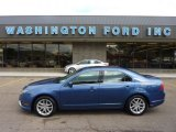2010 Sport Blue Metallic Ford Fusion SEL V6 AWD #50912391