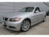 2006 Titanium Silver Metallic BMW 3 Series 330xi Sedan #50912050