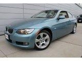 2008 Atlantic Blue Metallic BMW 3 Series 328xi Coupe #50912053