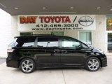 2011 Black Toyota Sienna SE #50912070
