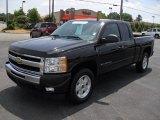 2009 Black Chevrolet Silverado 1500 LT Extended Cab 4x4 #50912586