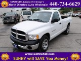 2003 Bright White Dodge Ram 1500 ST Regular Cab #50911894