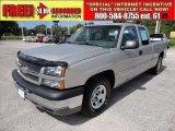 2004 Silver Birch Metallic Chevrolet Silverado 1500 LS Extended Cab #50912588