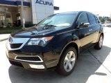 2011 Crystal Black Pearl Acura MDX  #50912418