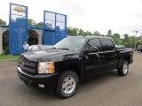 2011 Black Chevrolet Silverado 1500 LT Crew Cab 4x4 #50912098