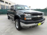 2003 Dark Gray Metallic Chevrolet Silverado 2500HD LS Extended Cab 4x4 #50912258