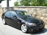 2010 Jet Black BMW 3 Series 335i Sedan #50912114