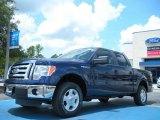 2011 Dark Blue Pearl Metallic Ford F150 XLT SuperCrew #50912120