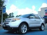 2011 Ingot Silver Metallic Ford Explorer Limited #50912121