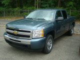 2011 Black Granite Metallic Chevrolet Silverado 1500 LS Crew Cab 4x4 #50911998
