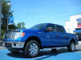 2011 Blue Flame Metallic Ford F150 XLT SuperCrew 4x4 #50912127
