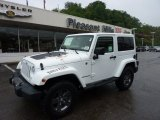 2011 Bright White Jeep Wrangler Mojave 4x4 #50912449