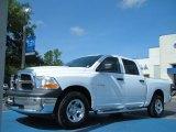 2010 Stone White Dodge Ram 1500 ST Crew Cab 4x4 #50912138