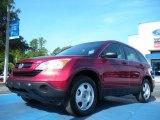 2009 Tango Red Pearl Honda CR-V LX #50912140