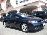 2007 Royal Blue Pearl Honda Civic EX Coupe #50912143