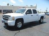 2011 Summit White Chevrolet Silverado 1500 LT Crew Cab 4x4 #50912463