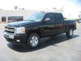 2011 Black Chevrolet Silverado 1500 LT Crew Cab 4x4 #50912464