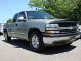 1999 Light Pewter Metallic Chevrolet Silverado 1500 LS Extended Cab #50912017