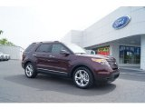 2011 Bordeaux Reserve Red Metallic Ford Explorer Limited #50912148
