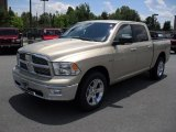2011 White Gold Dodge Ram 1500 Big Horn Crew Cab 4x4 #50912642