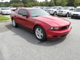 2011 Race Red Ford Mustang V6 Coupe #50912329