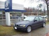 2002 Orient Blue Metallic BMW 3 Series 325i Sedan #5092959
