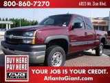 2003 Chevrolet Silverado 2500HD LT Extended Cab Data, Info and Specs