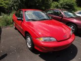 1999 Bright Red Chevrolet Cavalier Coupe #50912204