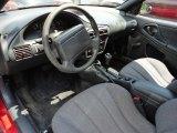 1999 Chevrolet Cavalier Coupe Graphite Interior