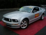 2006 Satin Silver Metallic Ford Mustang GT Premium Coupe #50912206