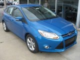 2012 Blue Candy Metallic Ford Focus SE Sport 5-Door #50912360