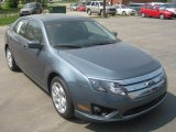 2011 Steel Blue Metallic Ford Fusion SE #50912363