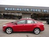 2012 Red Candy Metallic Ford Focus SE Sport Sedan #50912373