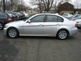 2007 Titanium Silver Metallic BMW 3 Series 328xi Sedan #5077309