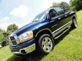 2006 Patriot Blue Pearl Dodge Ram 1500 SLT TRX Quad Cab 4x4 #50965247