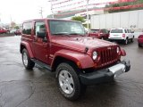 2011 Jeep Wrangler Deep Cherry Red Crystal Pearl
