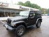 2011 Black Jeep Wrangler Mojave 4x4 #50965408