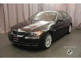 2008 Jet Black BMW 3 Series 335i Sedan #5077323