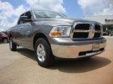 2010 Mineral Gray Metallic Dodge Ram 1500 SLT Quad Cab 4x4 #50965425