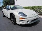 2003 Dover White Pearl Mitsubishi Eclipse GS Coupe #50965261