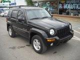 2002 Black Jeep Liberty Limited 4x4 #50965369